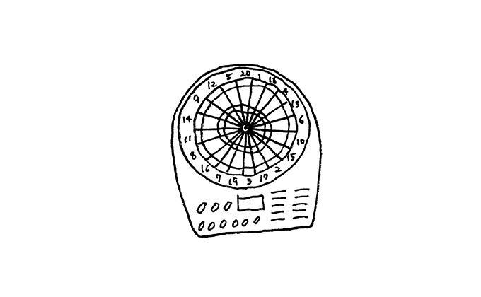 電子系ダーツボード