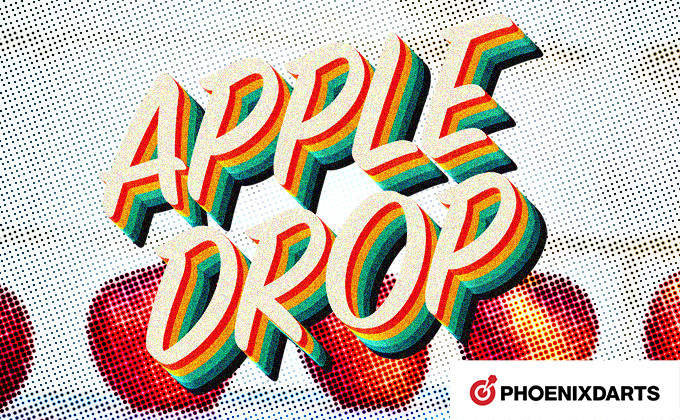 【VSPHOENIX X(フェニックス)】ダーツでりんごを回収だ!APPLE DROPルール紹介!