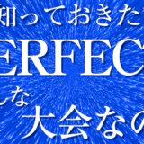 知っておきたいダーツの知識!「PERFECT」について!