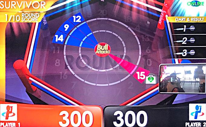 サバイバーゲーム画面