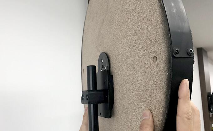 ダーツボードの設置