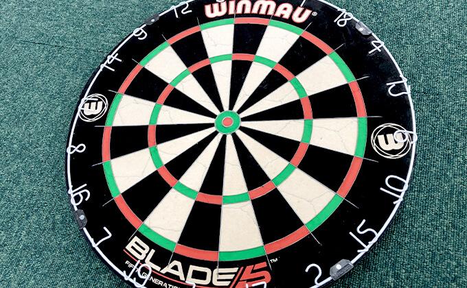 『WINMAU(ウィンモー)のBLADE5(ブレード)』のハードボード